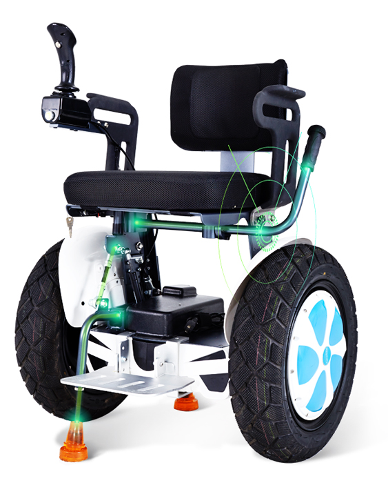 Airwheel-A6 Smart Self-balancing Electric Wheelchair