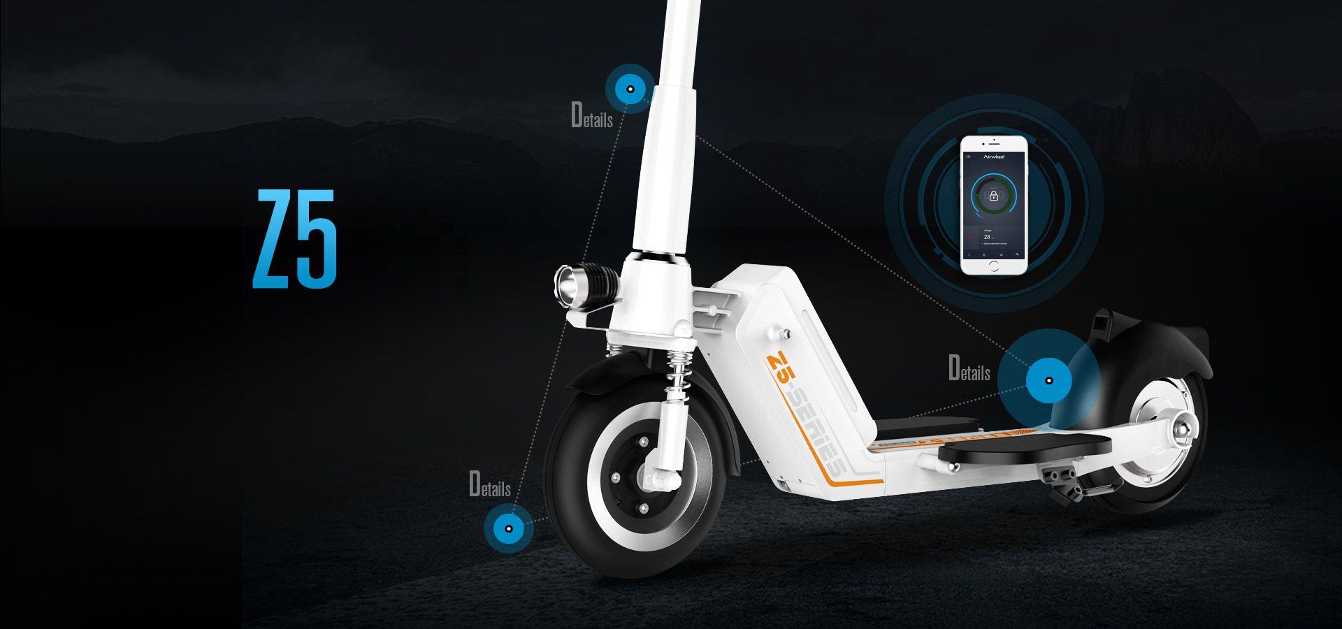Z5 2 ruote scooter elettrico