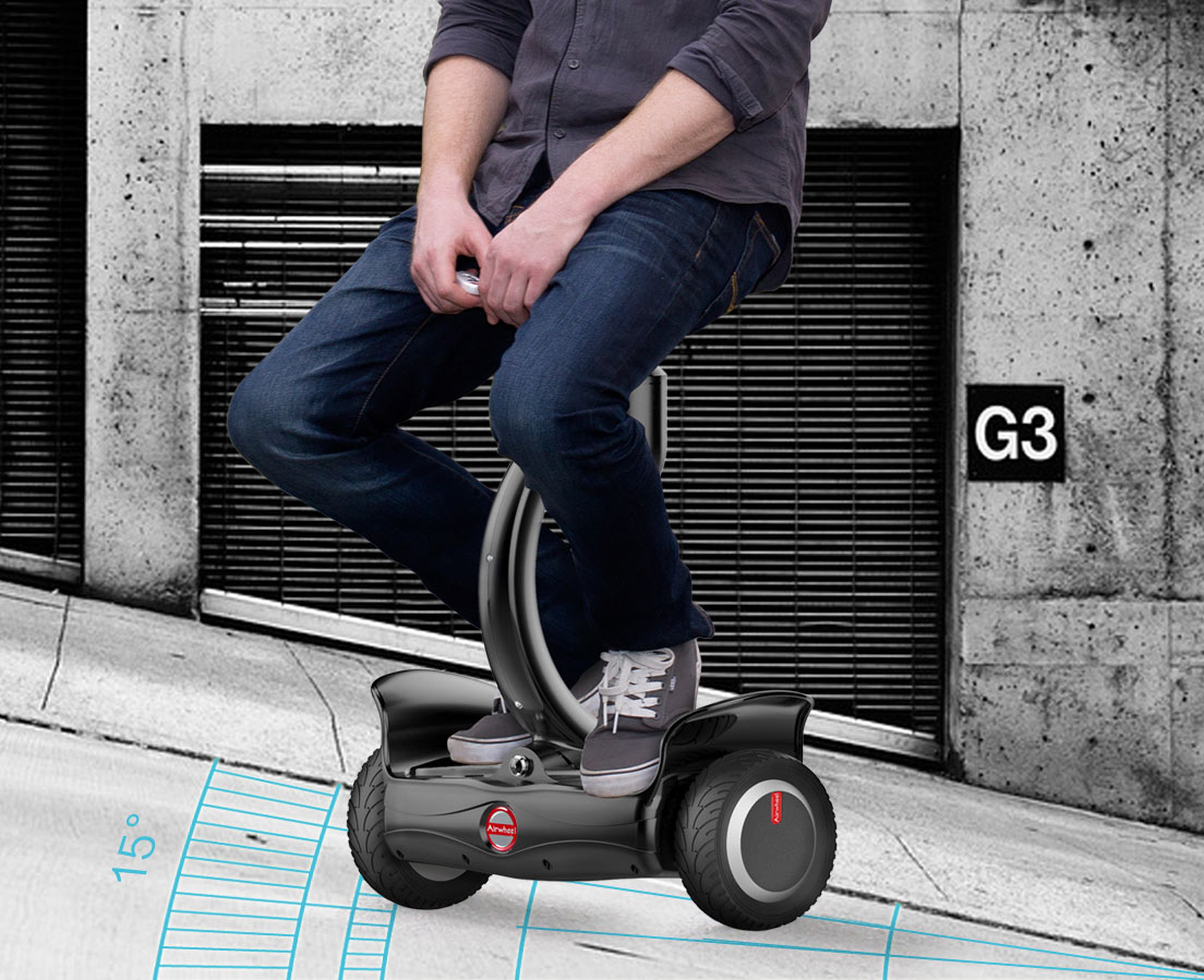 Airwheel scooter autobilanciato