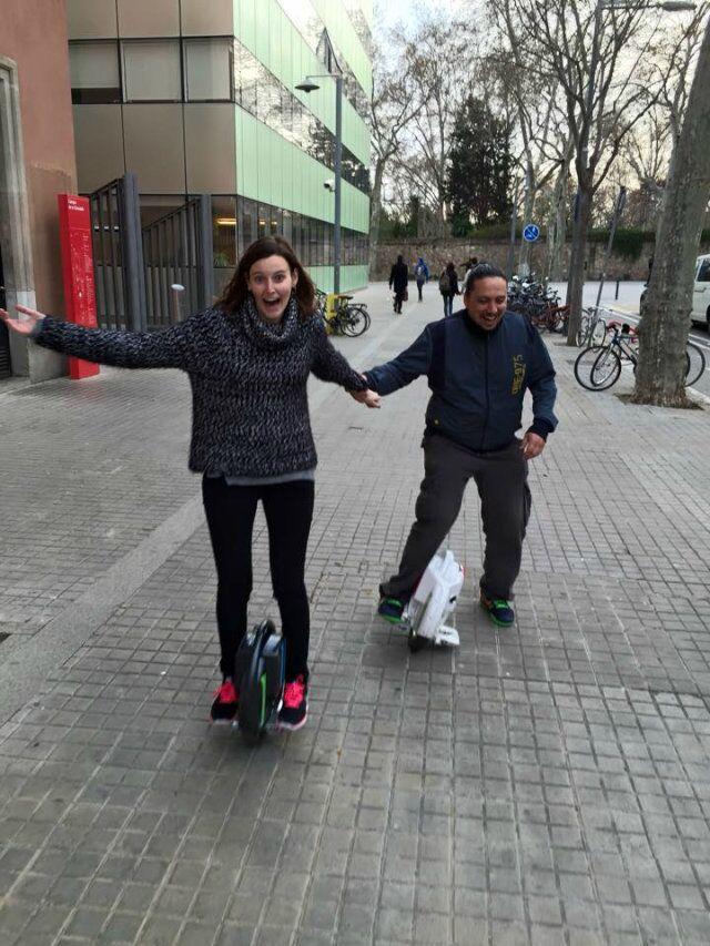 Airwheel, 2 ruote auto-bilanciamento scooter, scooter, singola ruota scooter elettrico