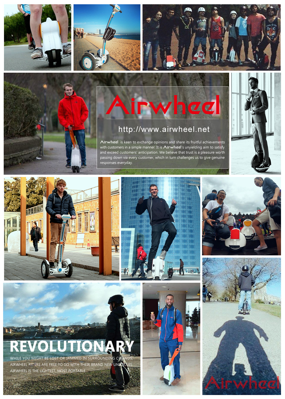 mini scooter elettrico, Airwheel