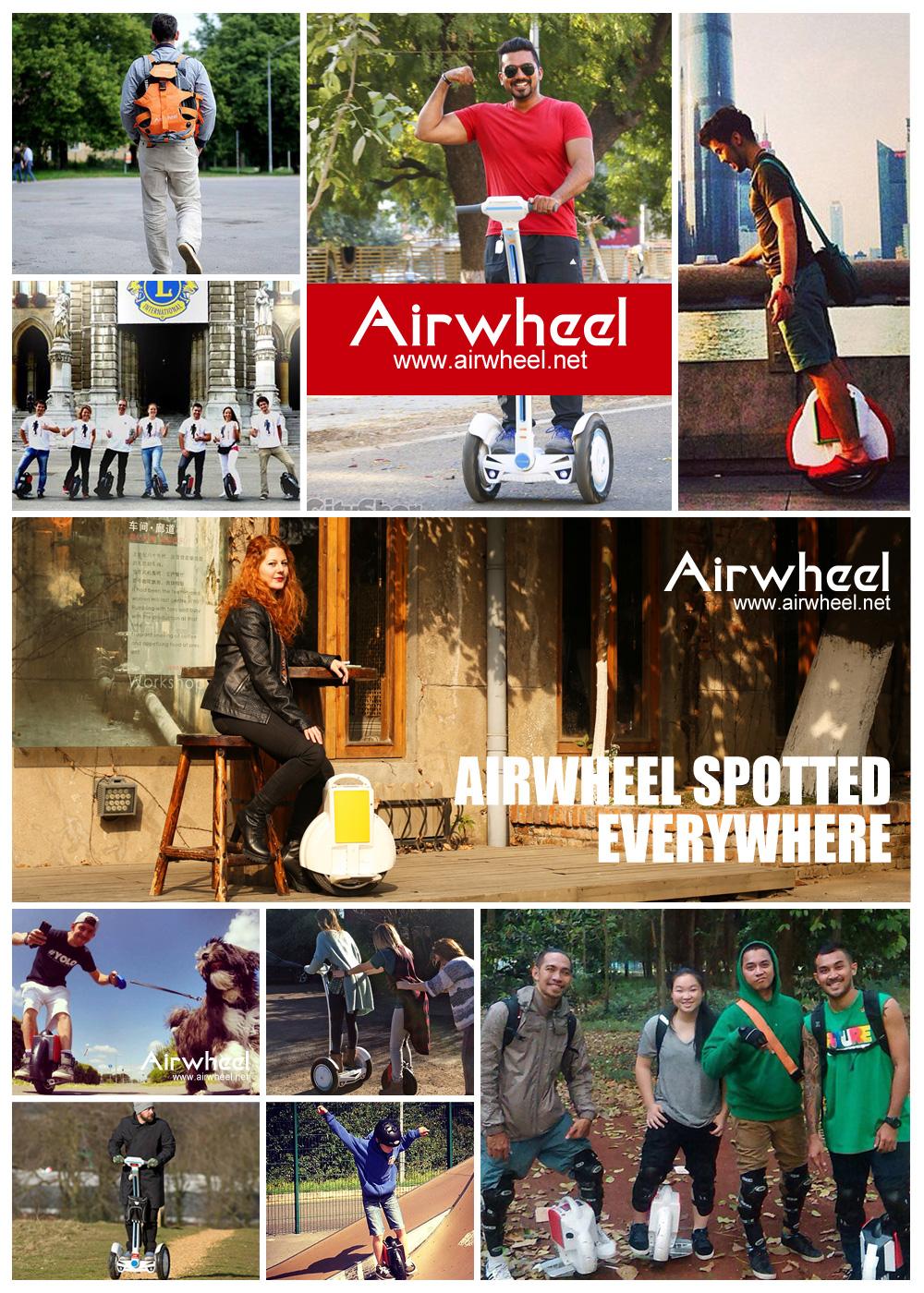 auto-bilanciamento scooter, Airwheel