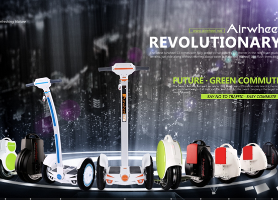 The theme of Car Free Day programme will be centred on Green & Eco-friendly. As such, Airwheel intelligent self-balancing scooter S3 is due to be displayed amongst activities.
