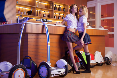 Eco-friendly, user-friendly and innovative, Airwheel electric scooter takes off.