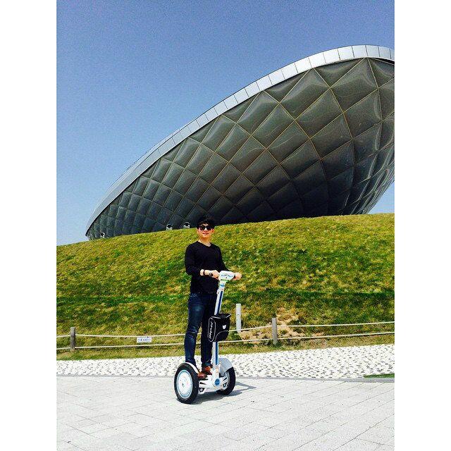 monociclo motorizzato mini scooter, Airwheel S3