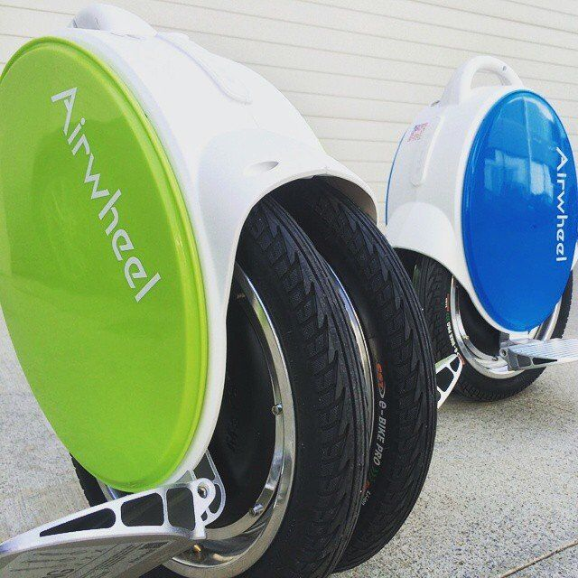 Airwheel Q5, auto-bilanciamento motorino