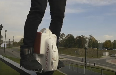 unicycle self-balancing,scooter,Airwheel X3