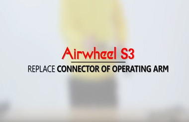 Airwheel S3 Replace Connector of Operating Arm