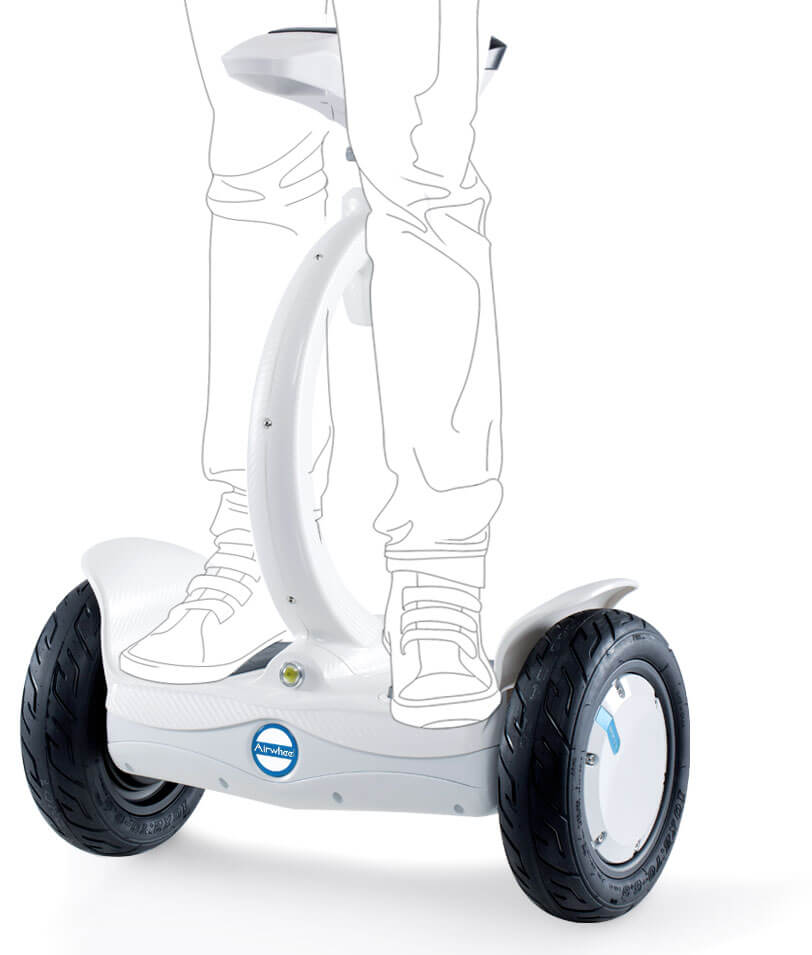 Sitting-posture electric scooter
