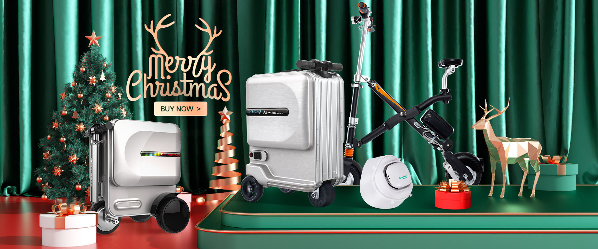 Airwheel SE3Mini electric luggage