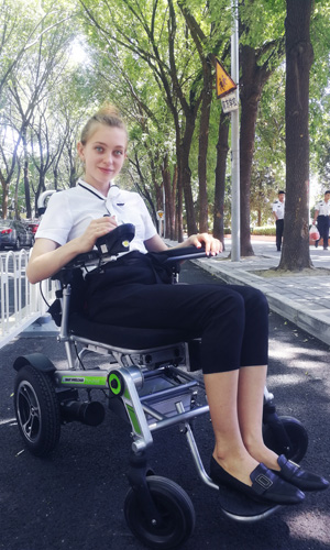 Airwheel H3T power floding wheelchair