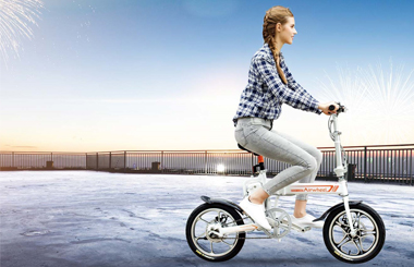 Airwheel R5 portable electric bike for sale.